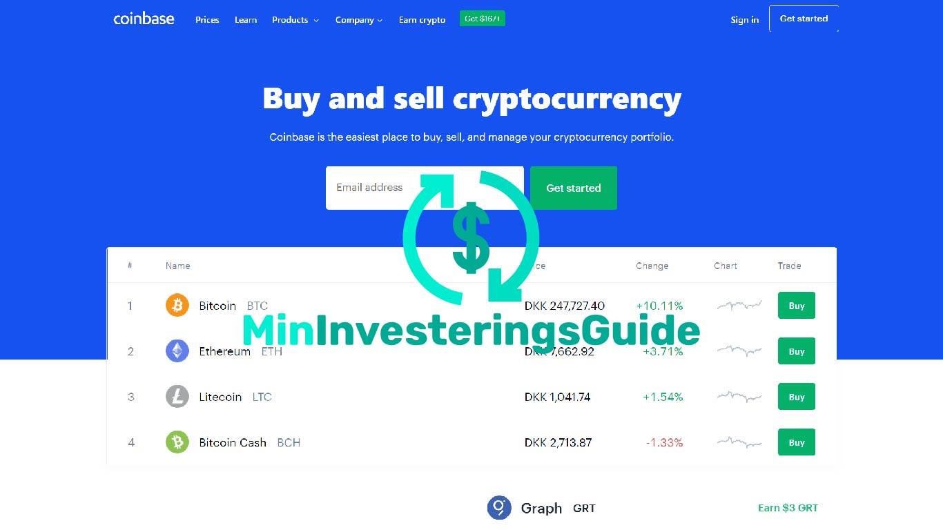 Coinbase Review, Coinbase anmeldelse