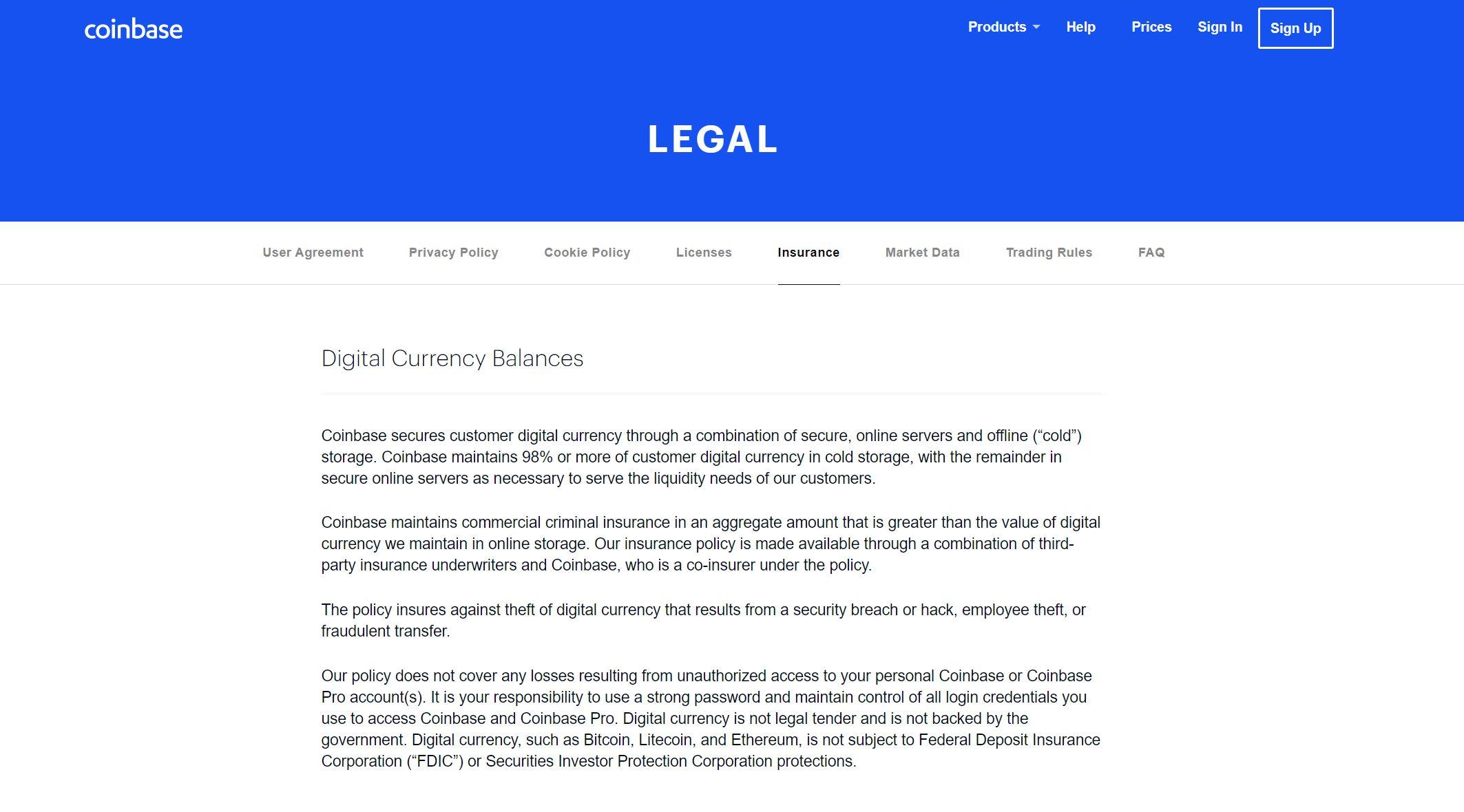 Coinbase Legal