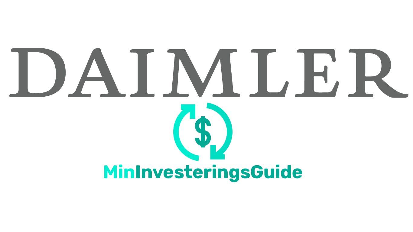 Daimler Logo, Daimler Investering